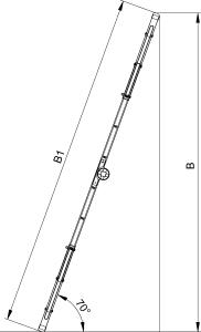 """Многофункциональная лестница """"B"""""""